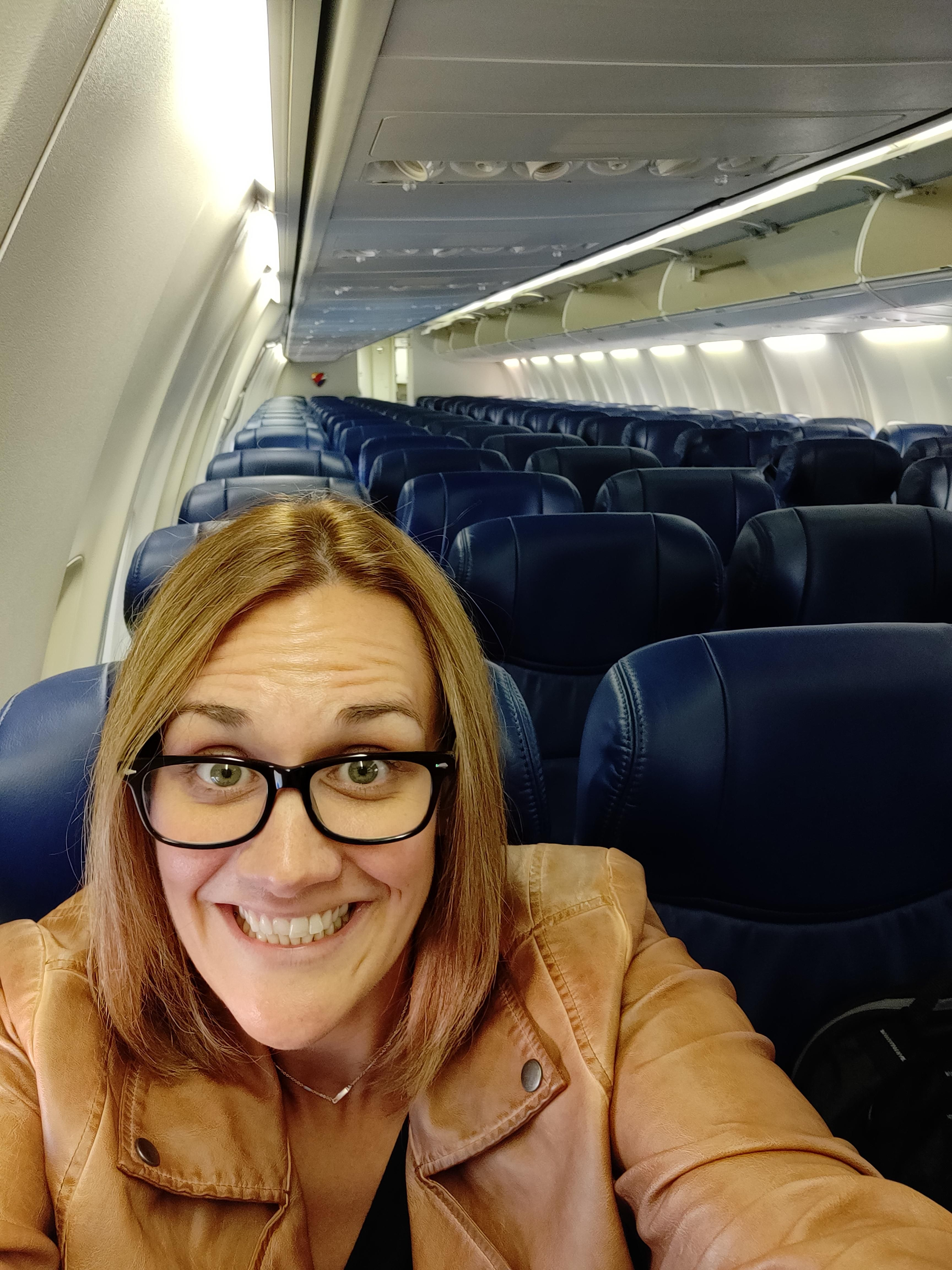 Know the feeling you get when the middle seat is open next to you on a flight? I can beat that...