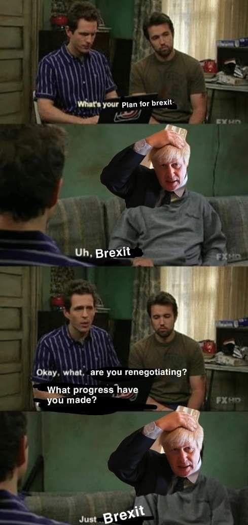 Little green brexits, buddy