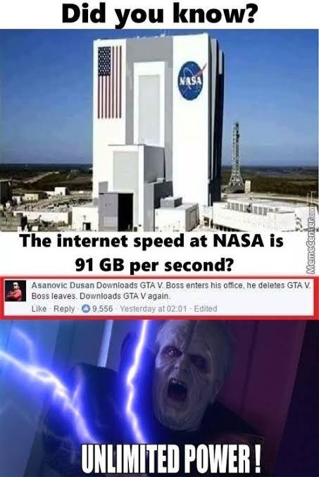 Am jealous on NASA