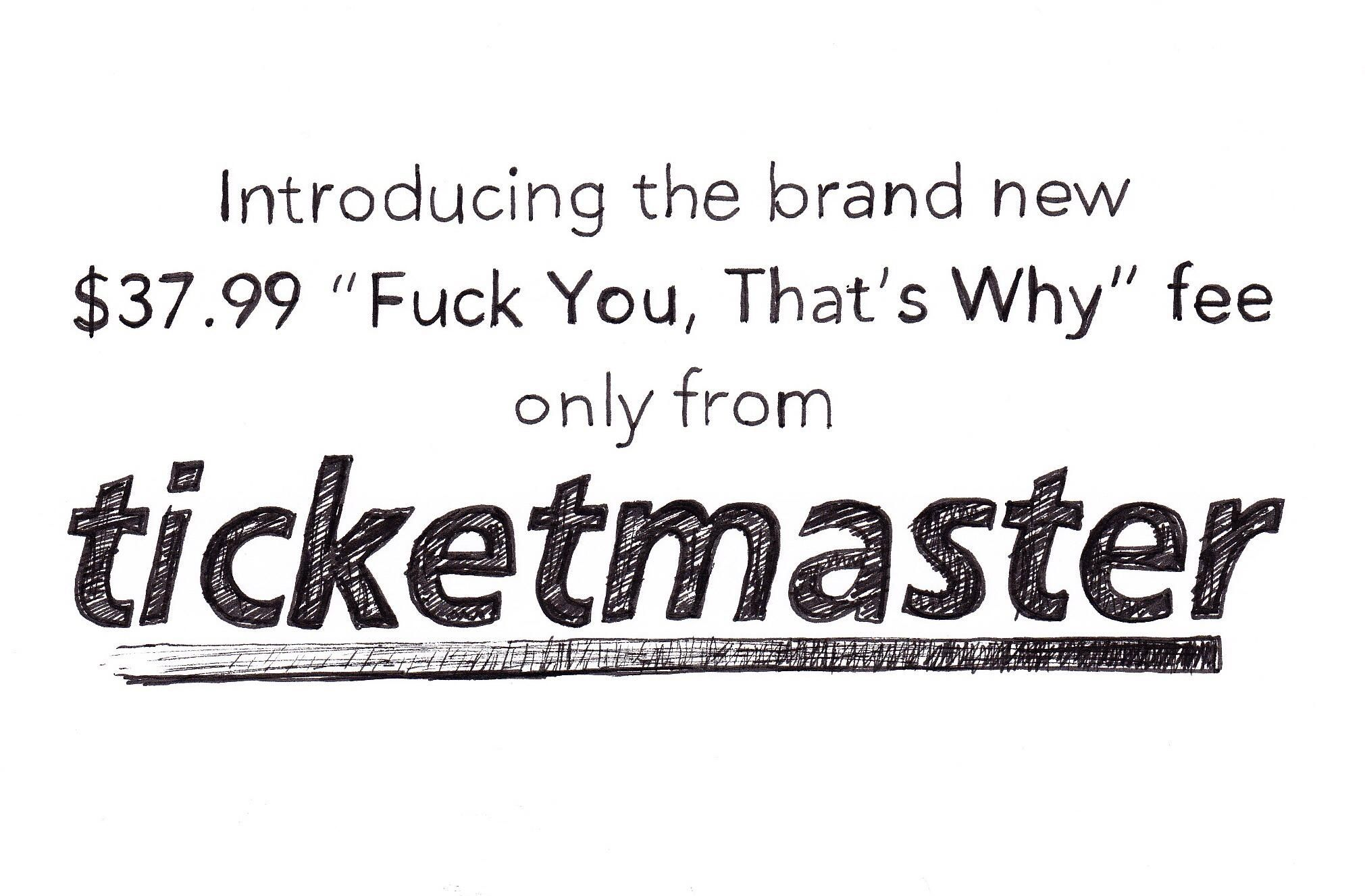 only from Ticketmaster