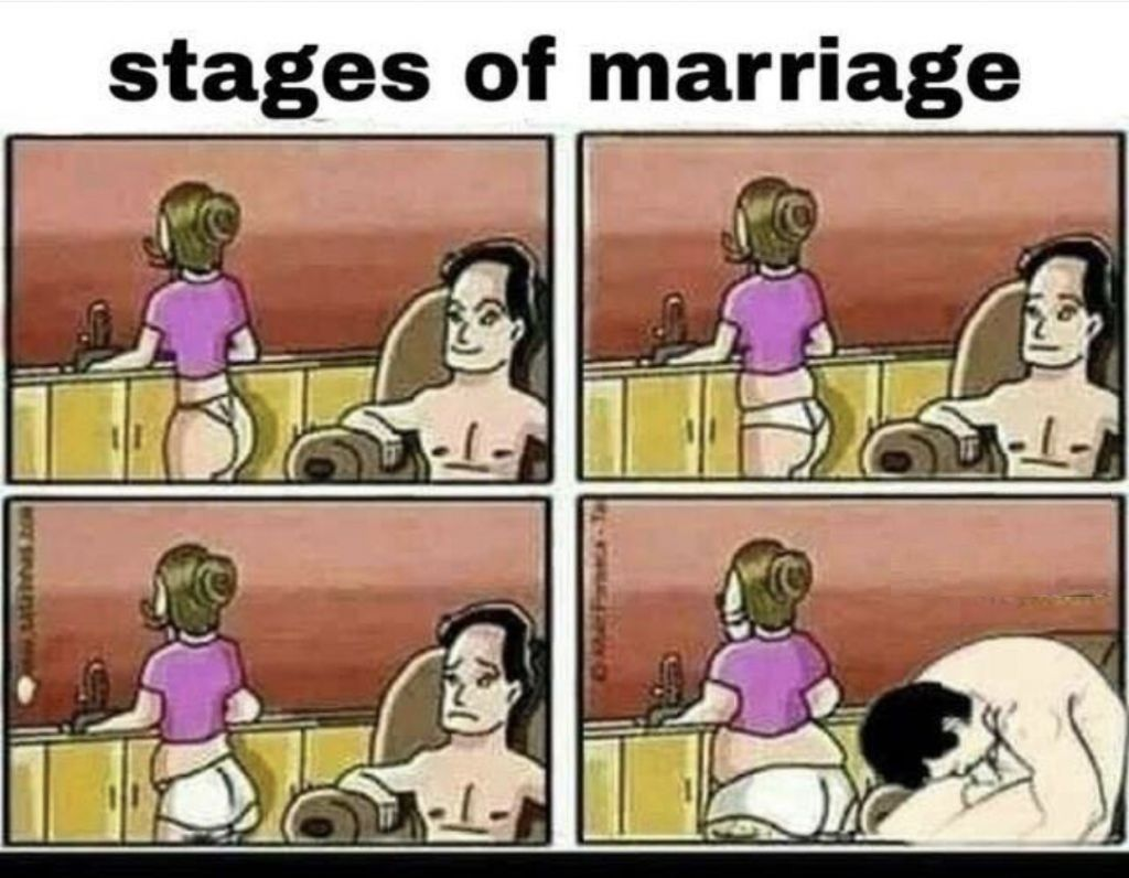 I've been at 4th stage ever since my wife hit puberty