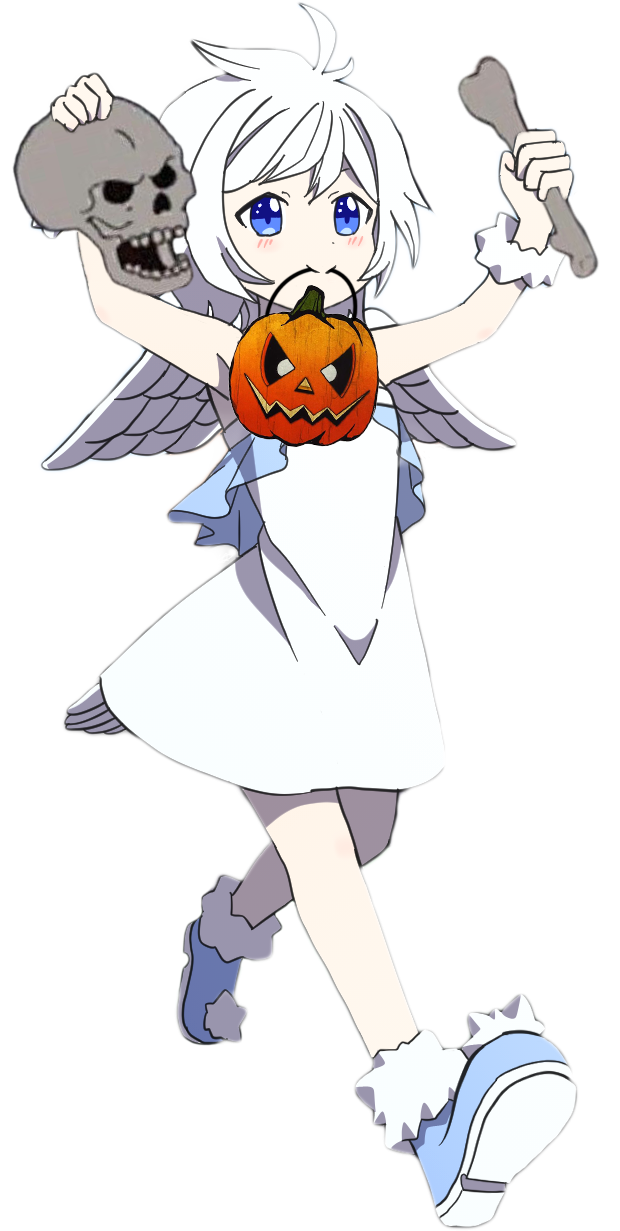 Goose-Chan is ready for Spooktober!