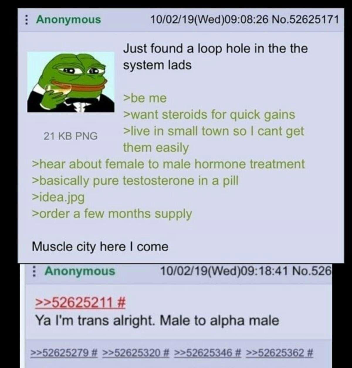 Anon becomes alpha