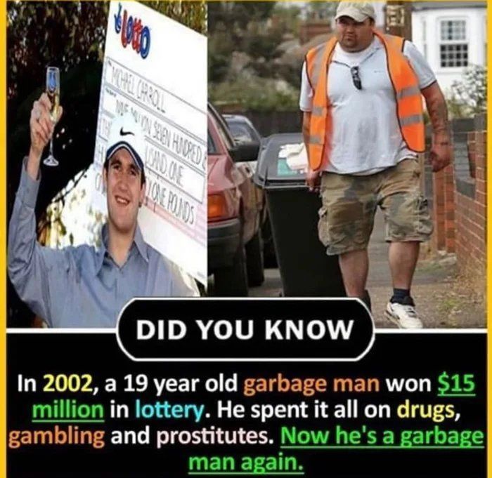 The story of garbage man