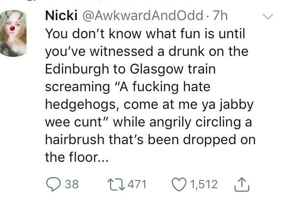 Those jabby wee needle boys..