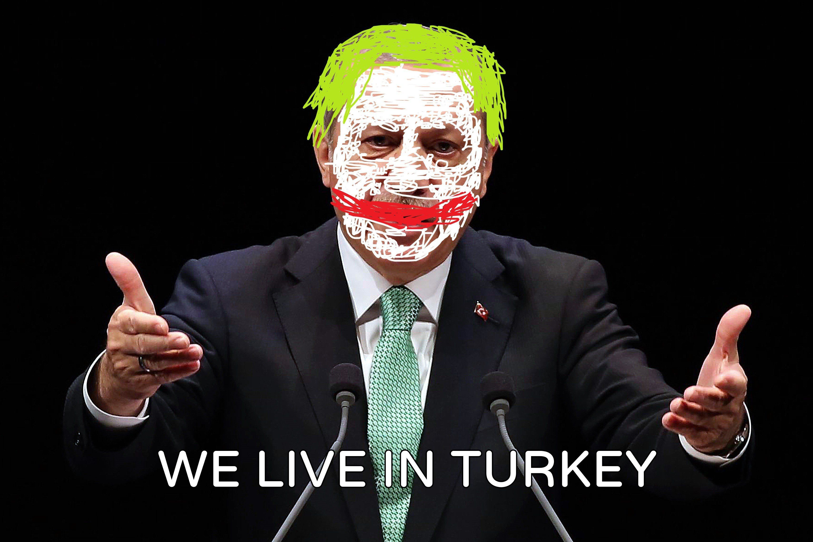 when joker becomes a president