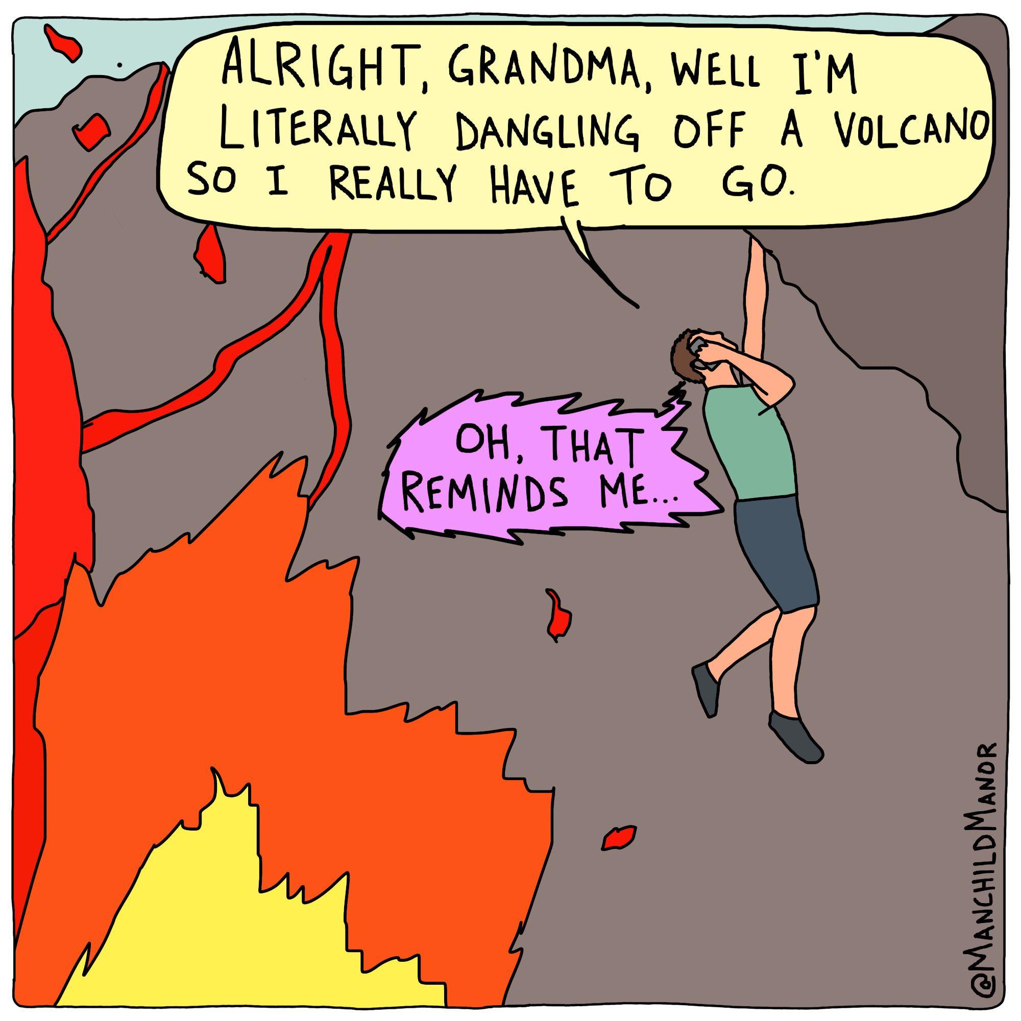 Grandma's a savage