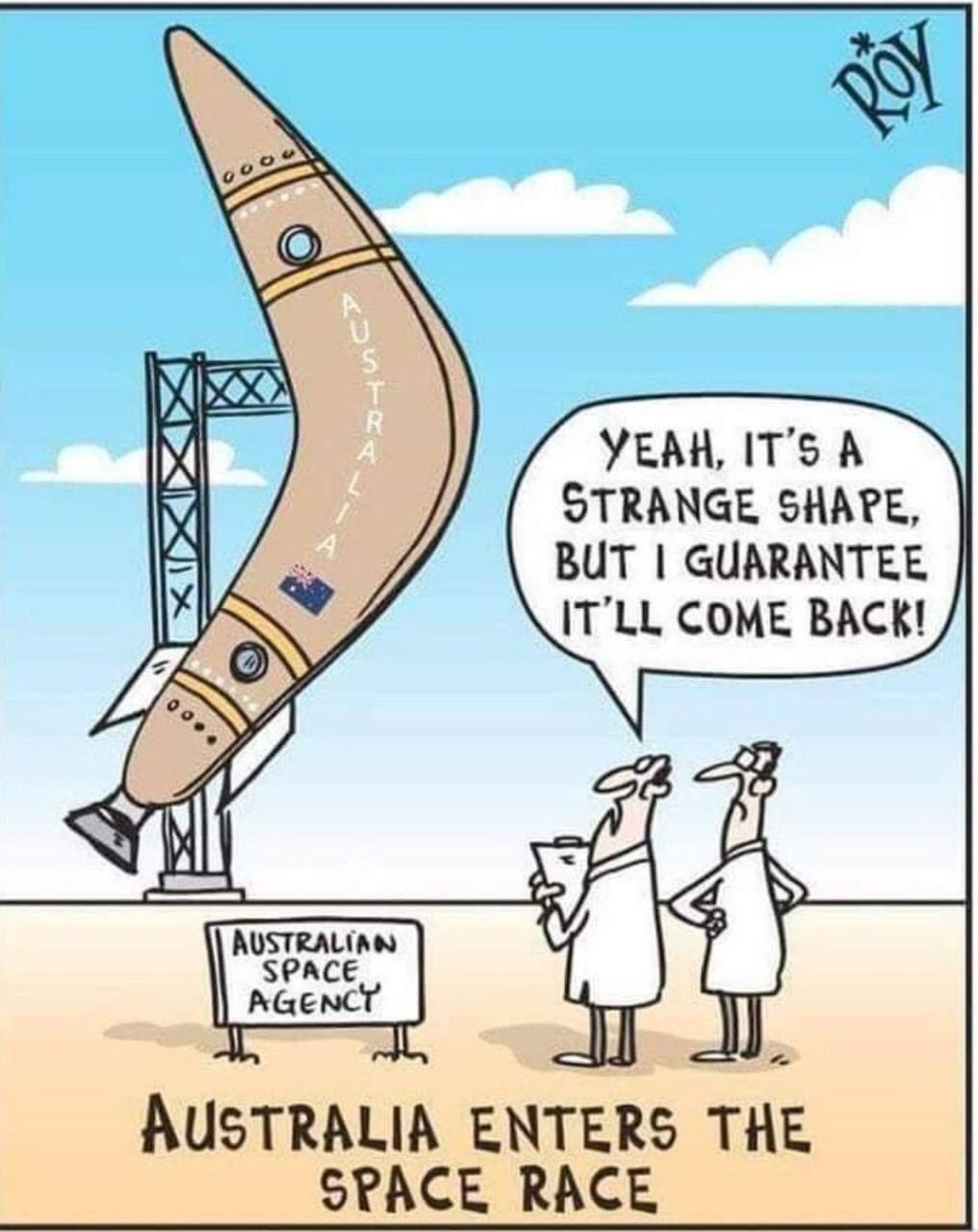 Australia enters the space race