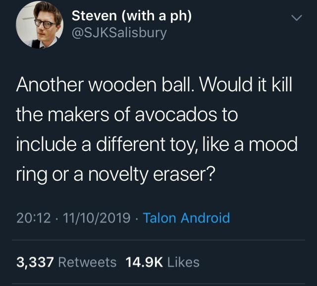 Avocados need better prizes >:(
