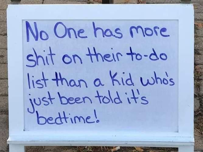 Those with kids will most definitely understand this!