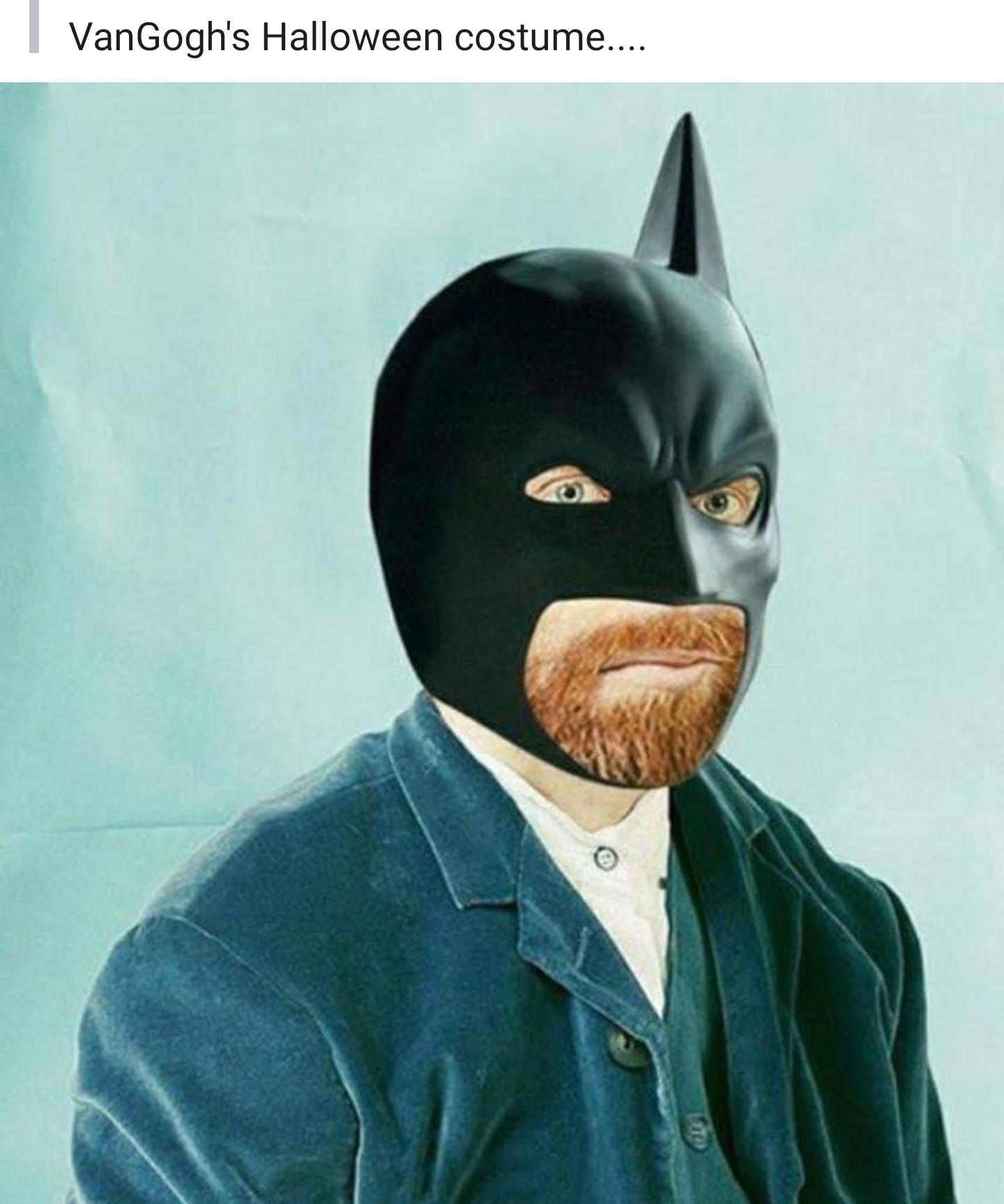 Van Gogh's Halloween costume