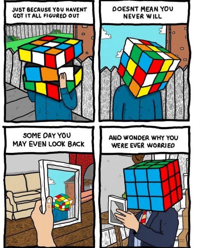 Rubix cube comic