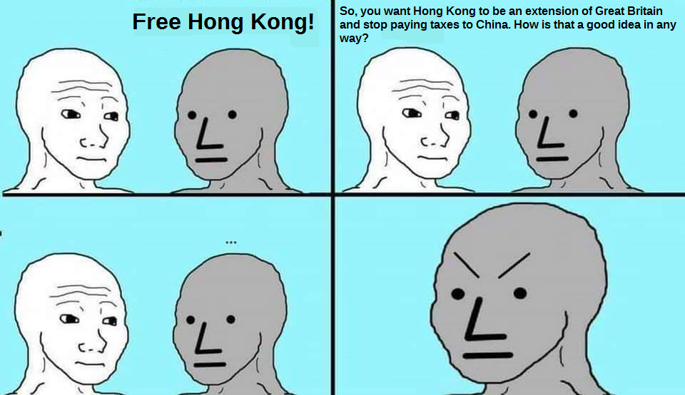 I have such a strong opinion! (Even tho I can't even point Hong Kong in a map)