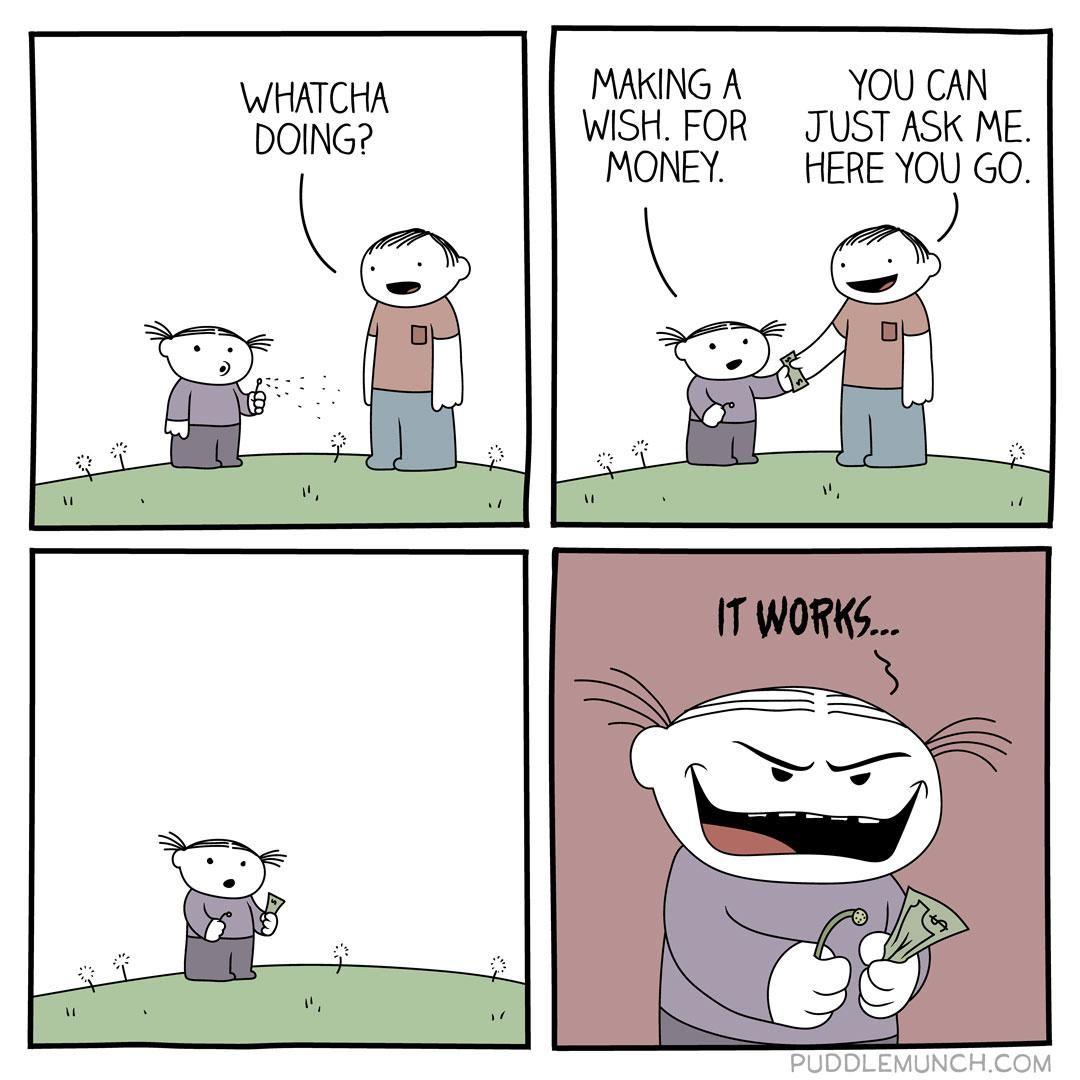 A small wish.