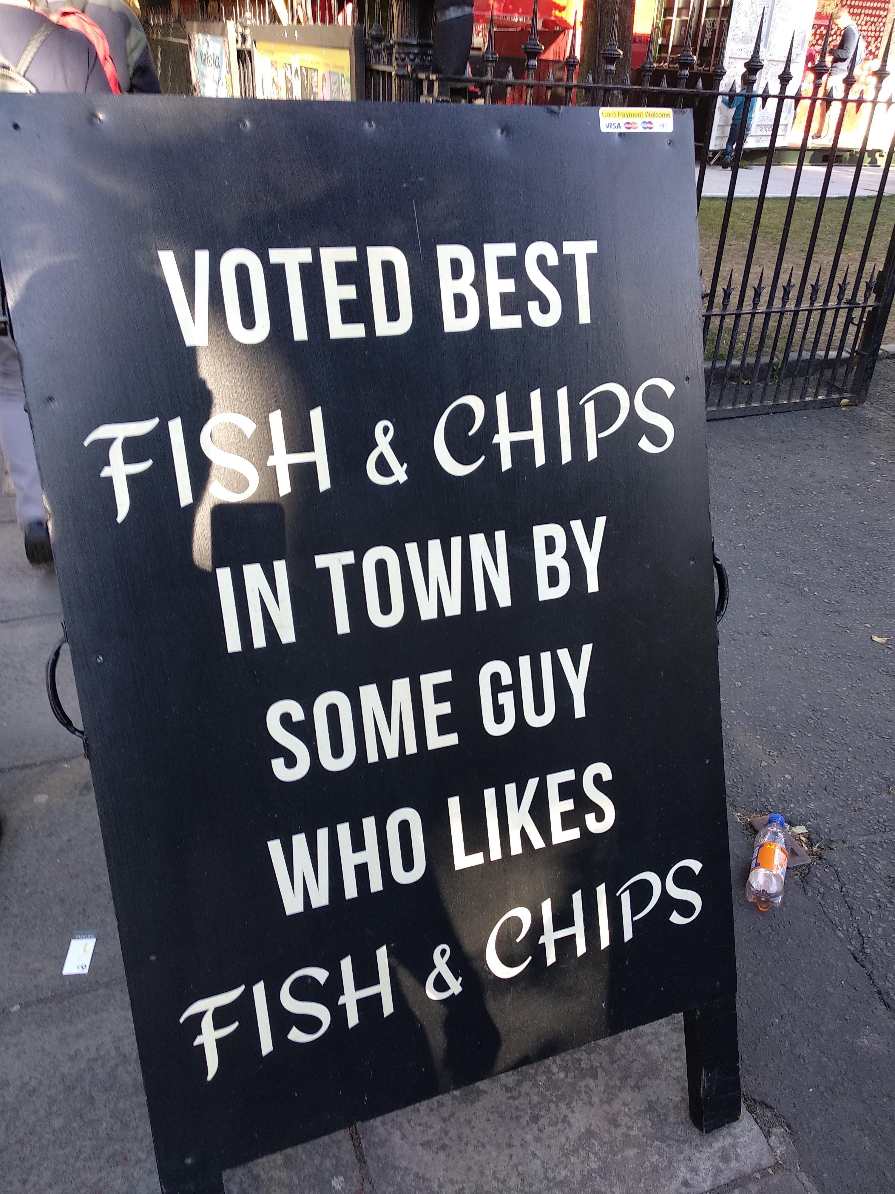 Seen in Edinburgh