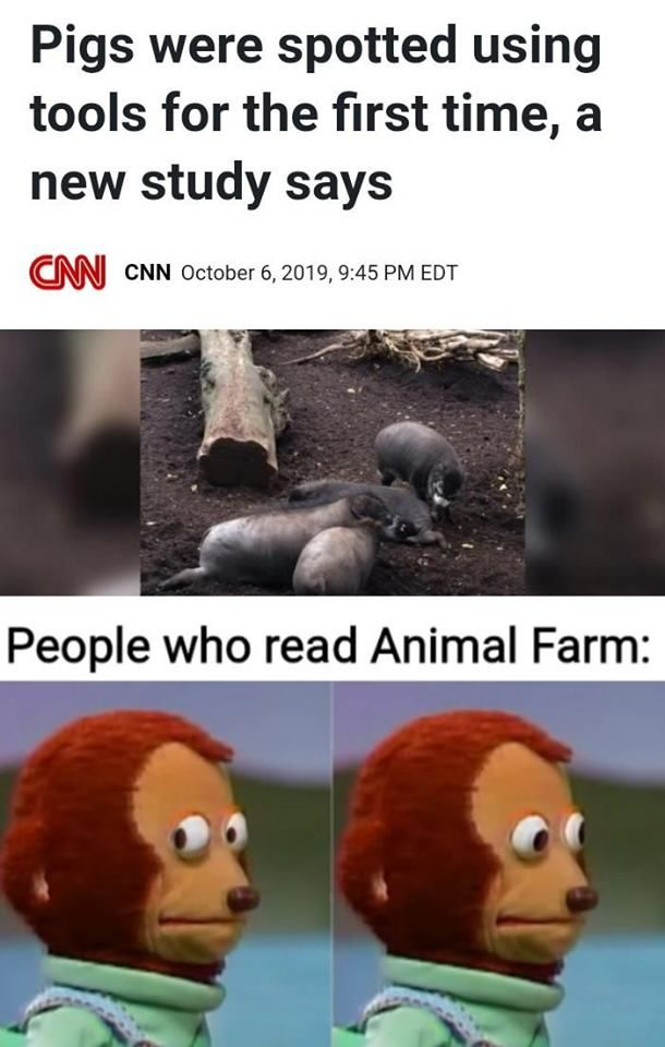 some animals about to become more equal than others
