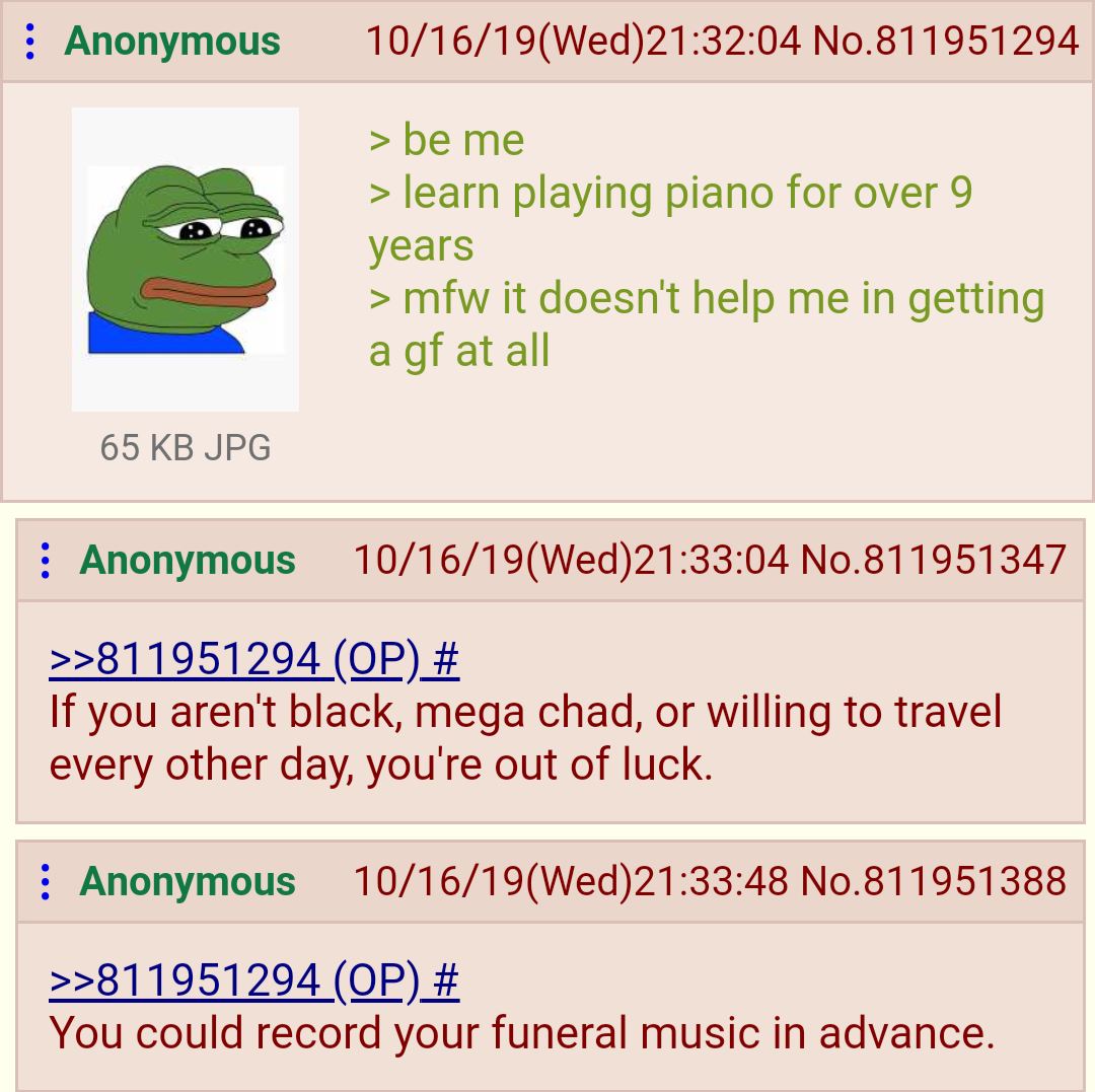 Anon learns piano