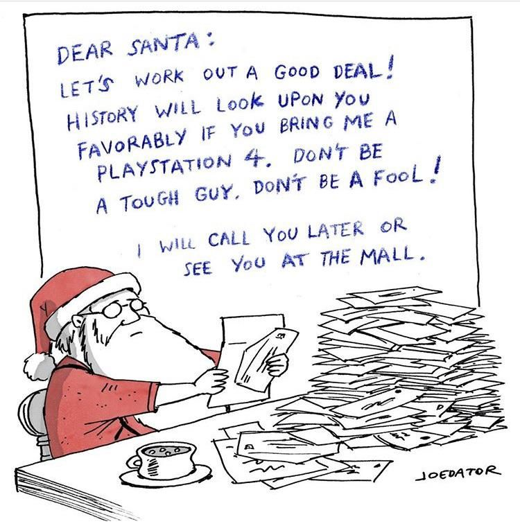 Don't be a fool Santa!