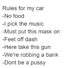 dont be a pussy