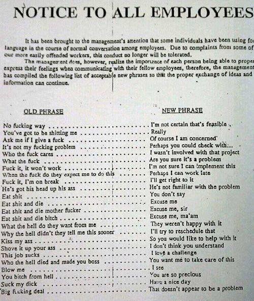 Old phrase vs. new phrase