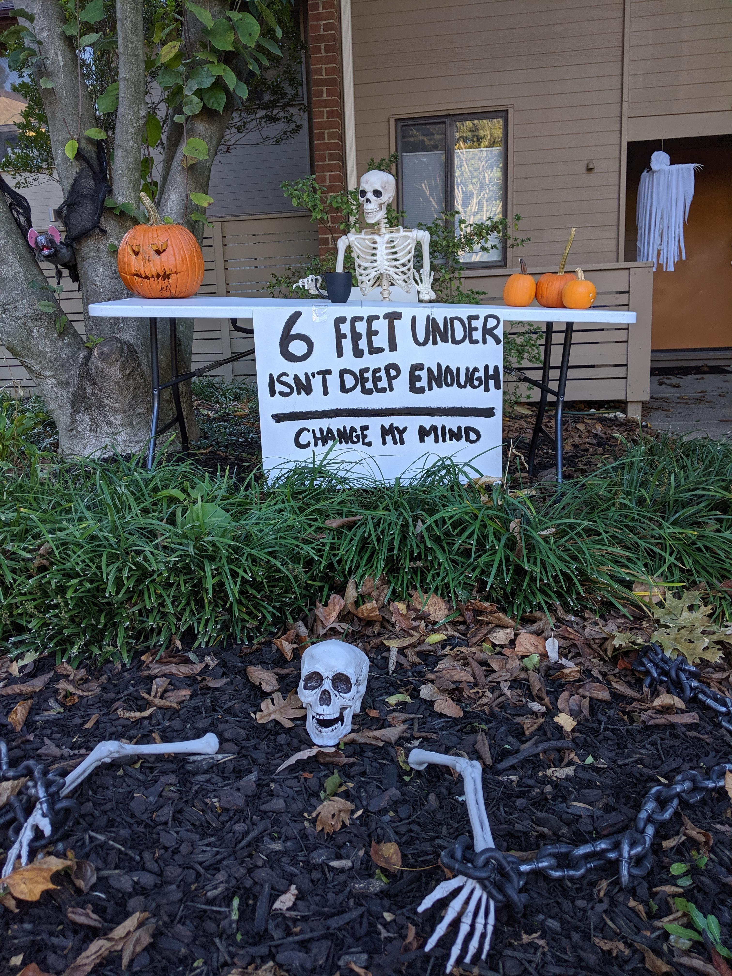 Change my Mind: Halloween edition