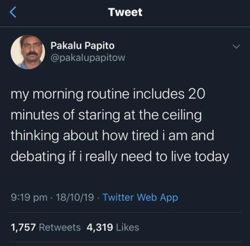 Top morning routine 2019
