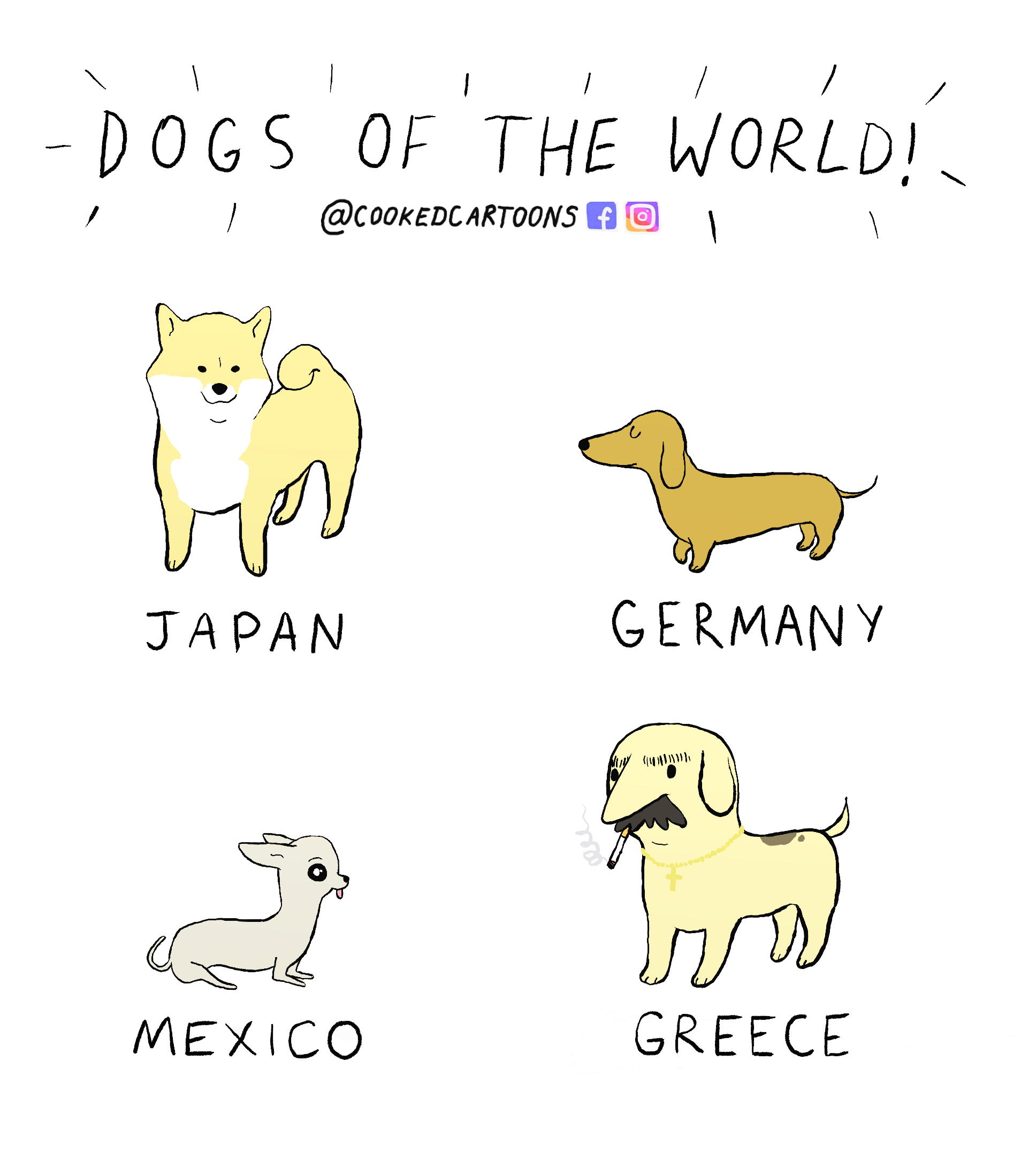 Dogs of the world!