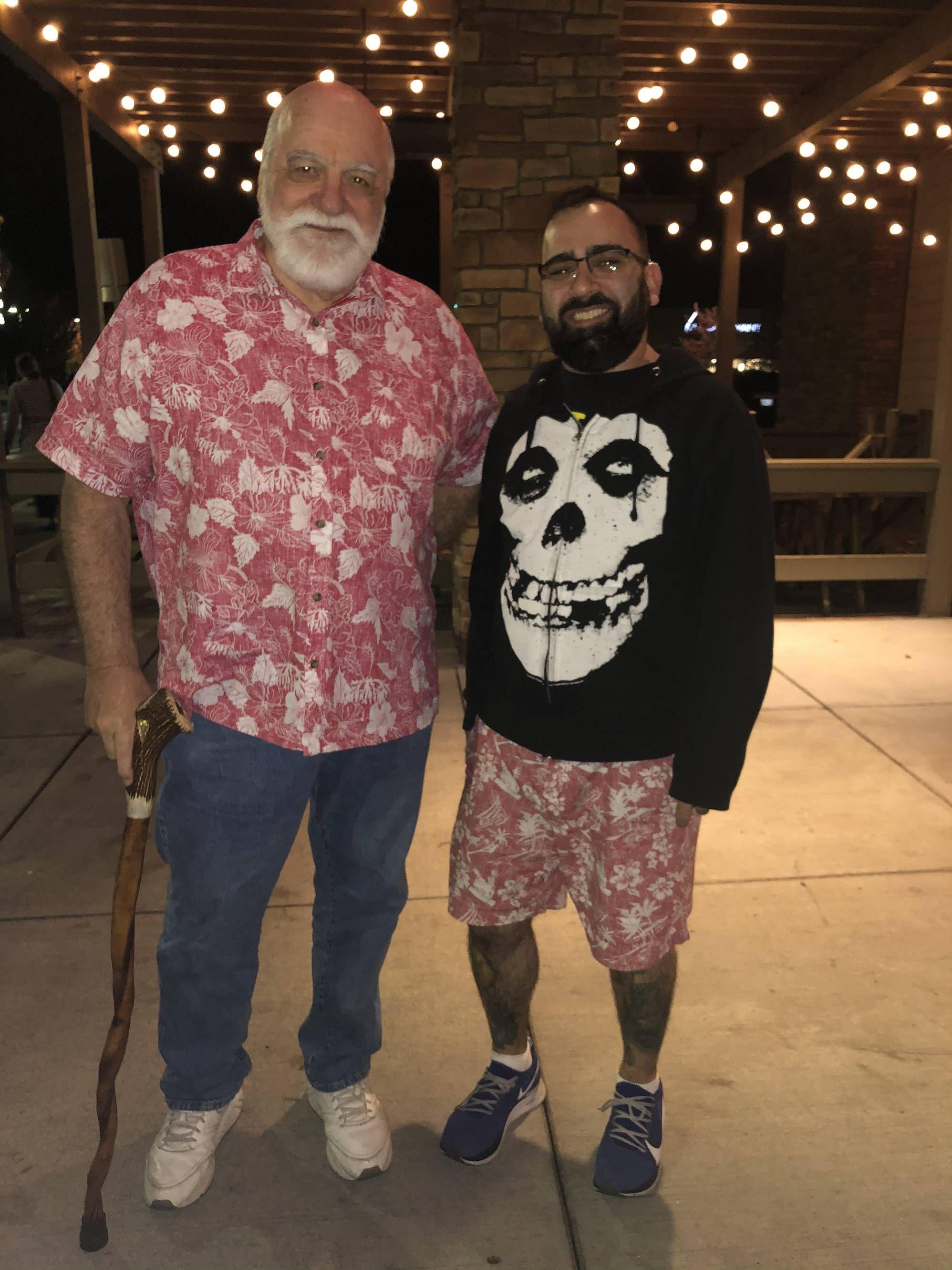 I met my upper half tonight