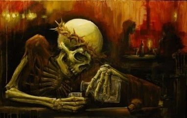 Friday's Spooky Feels Bar has opened. We welcome all guests.