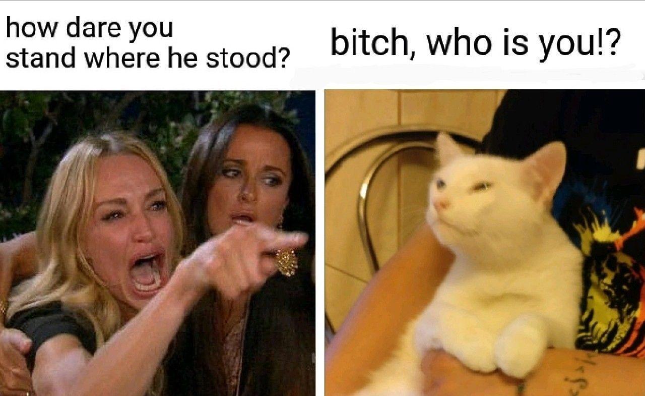 who dat bi***?