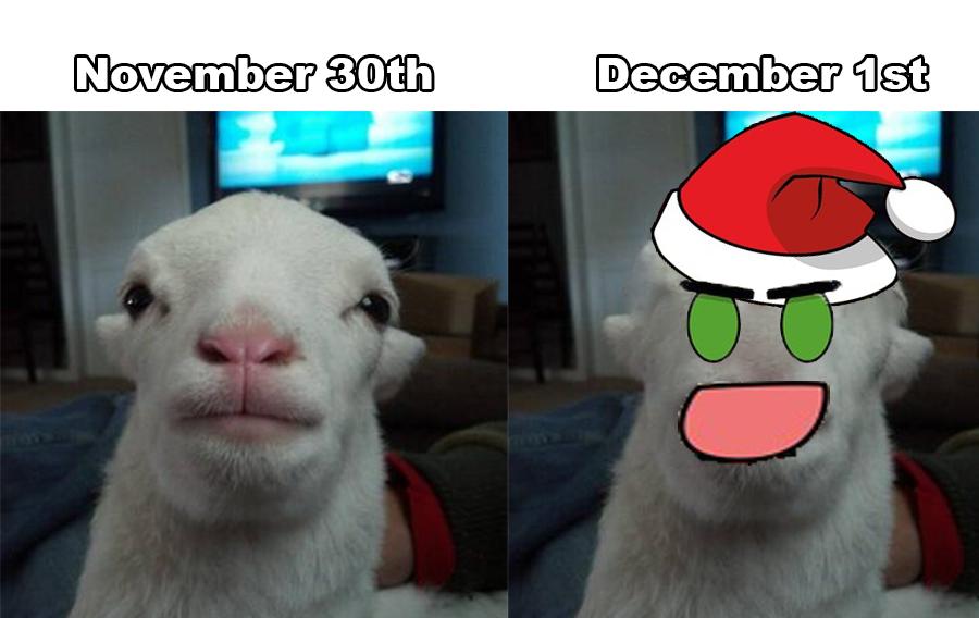 #memevember Happy cursed holydays