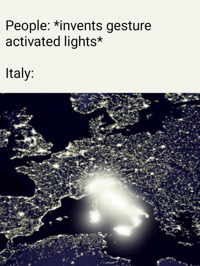 accendi la luce