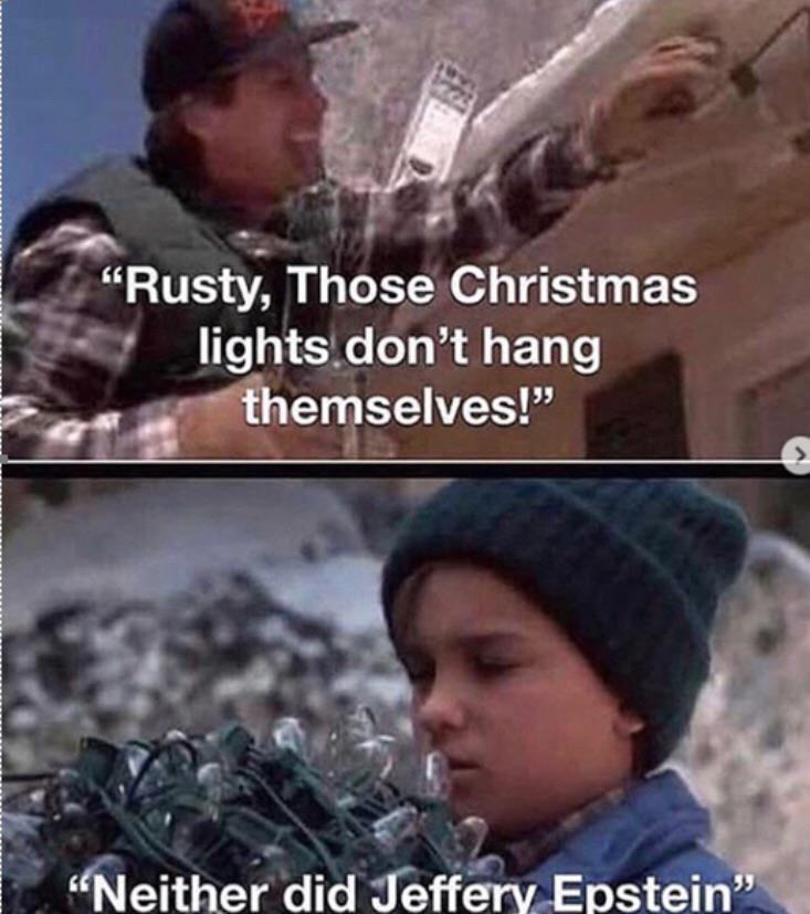 Those dam Christmas lights...