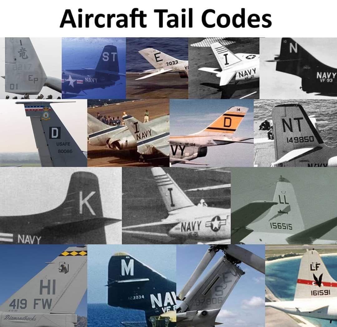 Aircraft Tail Codes