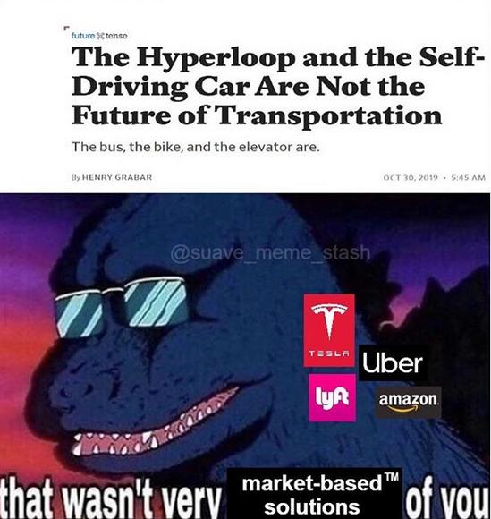 A hyperloop is a horizantal elevator.