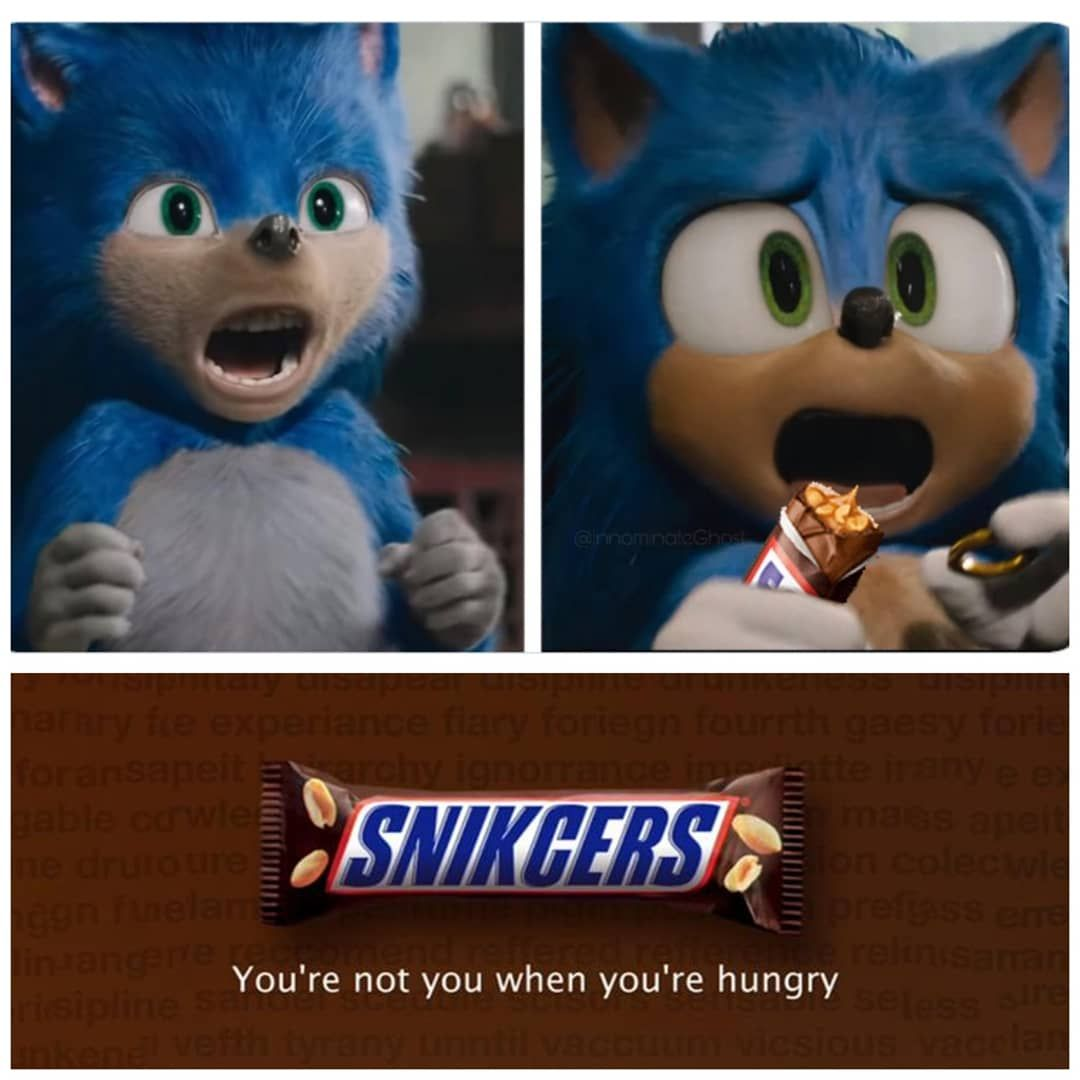 Hungry? Grab a Snickers!