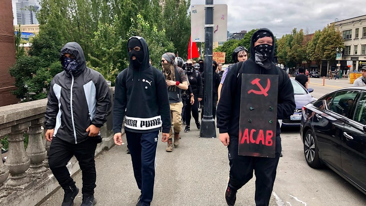 """You call them """"liberals"""", """"democrats"""" and """"Antifa"""". Now guess who's the stopid"""