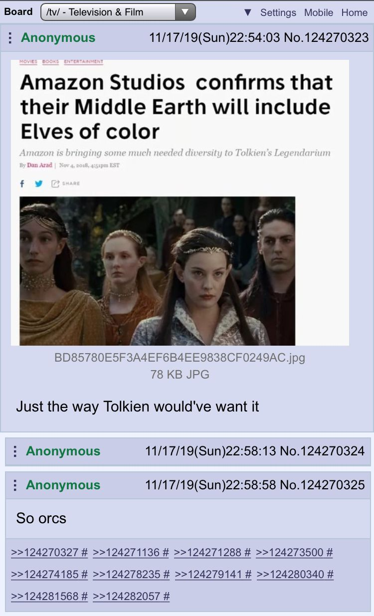Anon knows the lore