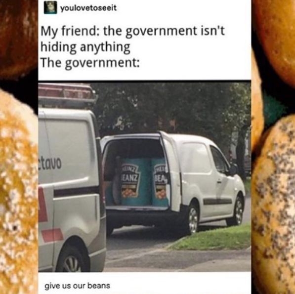 I hate the government.