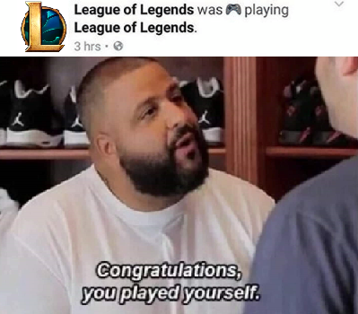major key to success is quitting league