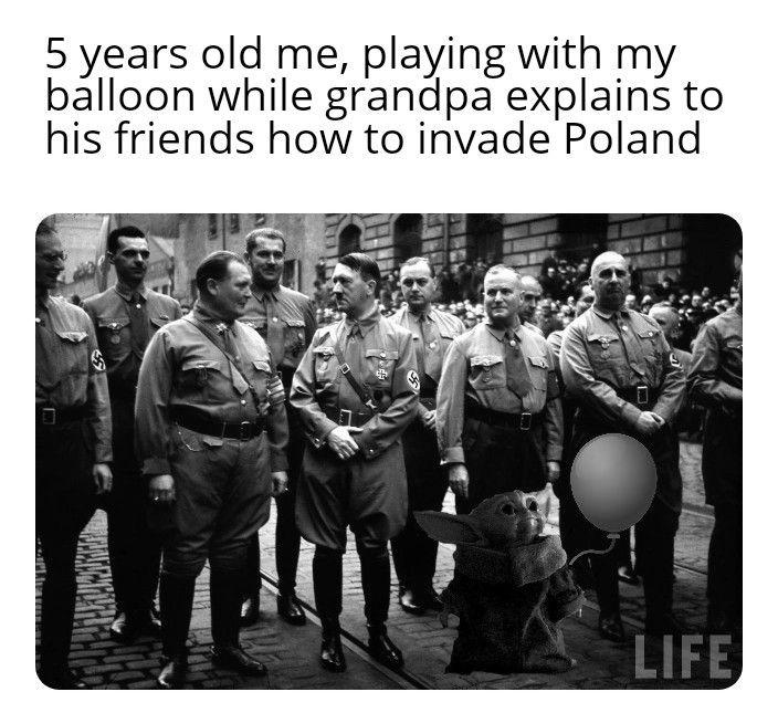 Granpa and friends