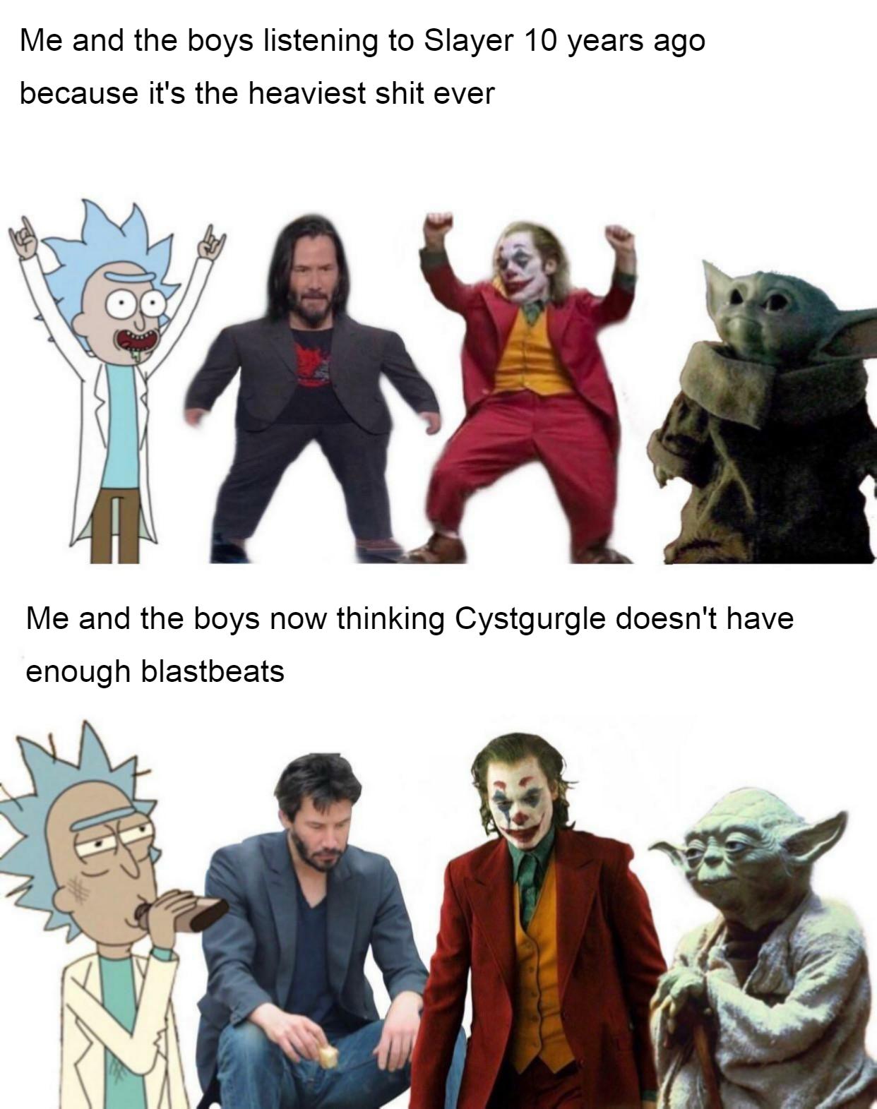 I like blastbeats