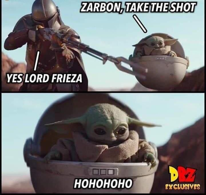 Yes Lord Frieza