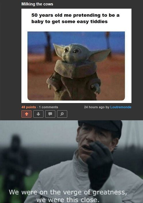 Milking the meme like Disney does with Star Wars