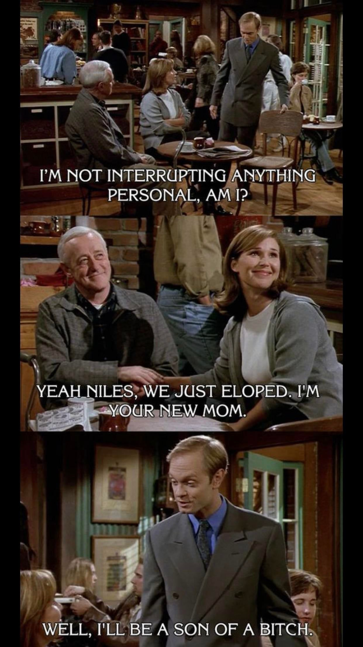 Oh Niles, never change