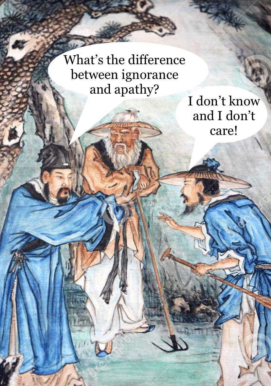 Angry sage wisdom