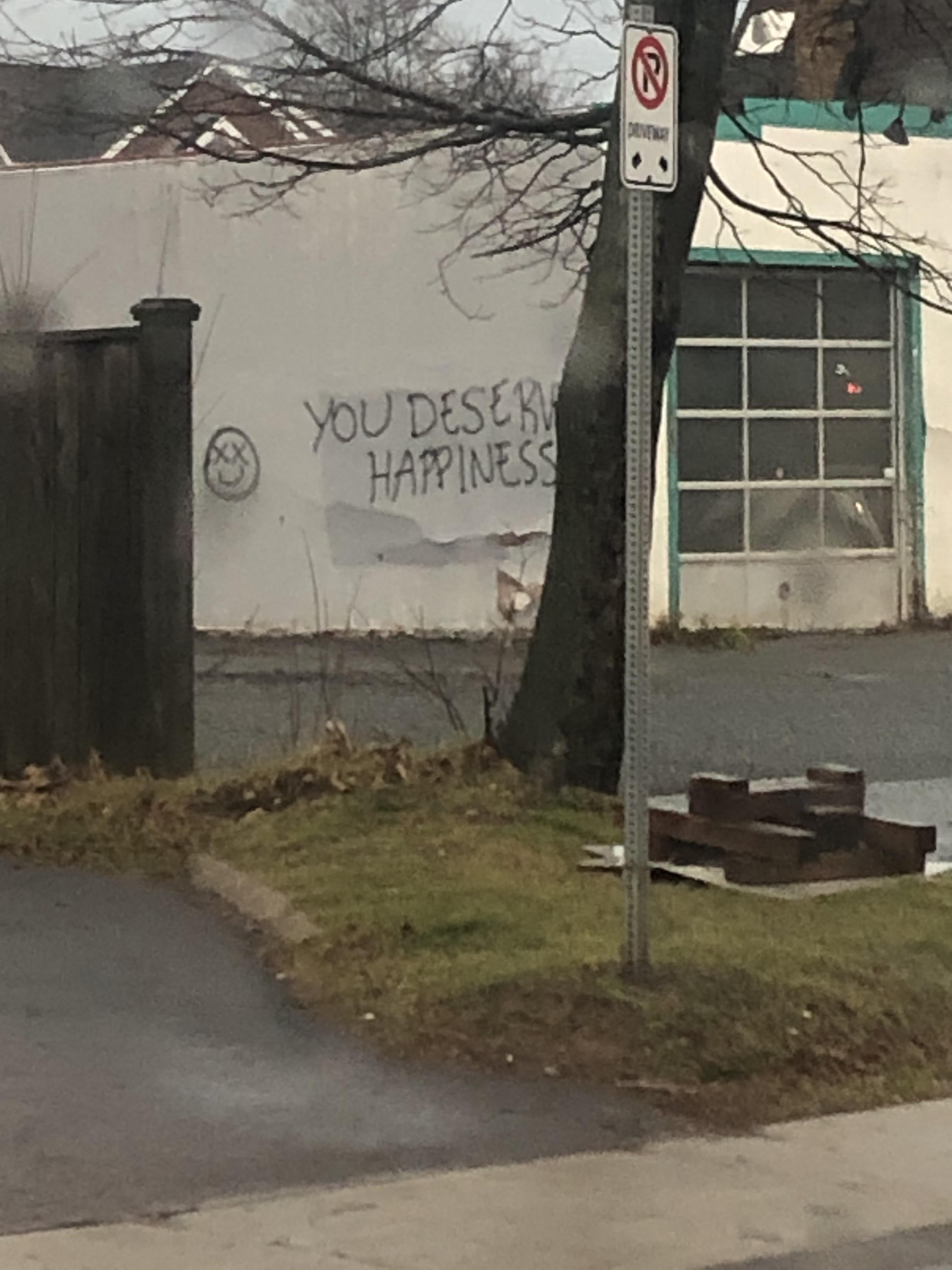 Canadian vandals strike again.