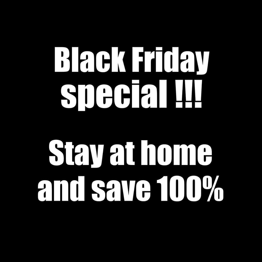Black Friday Special!!!