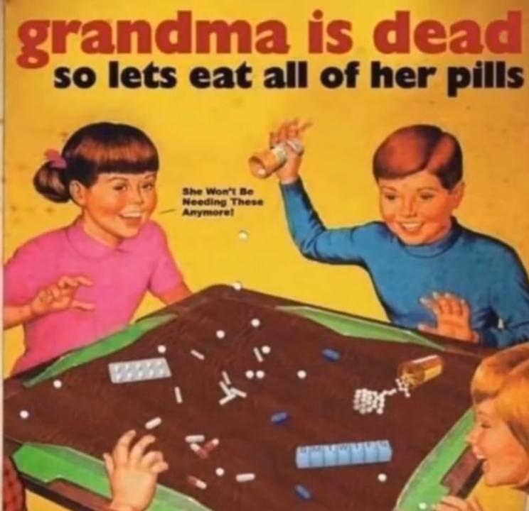 Mmmmm tasty pills