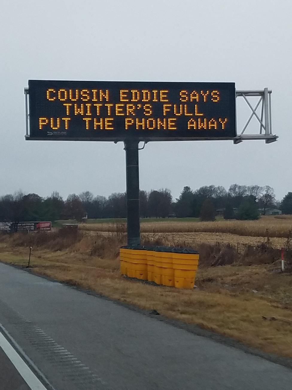 Careful out there, holiday travelers!